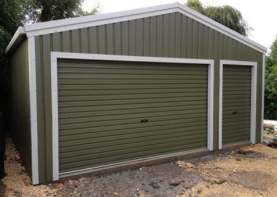 SINGLE GARAGE WITH PA DOOR